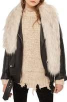 Topshop Women's Faux Fur Stole