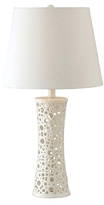 Kenroy Home Carli Ceramic Table Lamp