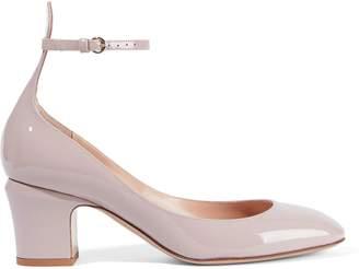 Valentino Garavani Tango Patent-leather Mary Jane Pumps