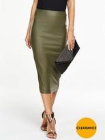 High Waisted Pencil Skirt - ShopStyle UK