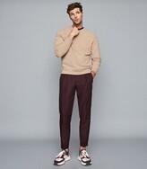 Tyne Coral Garment Dyed Sweatshirt – REISS