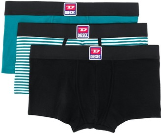 Diesel Three Pack Boxer Briefs