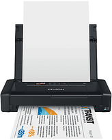Epson WorkForce WF-100 Portable Wireless Printer, Black