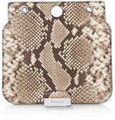MICHAEL Michael Kors Studio Sloan Select Medium Snake-Embossed Leather Shoulder Bag Flap