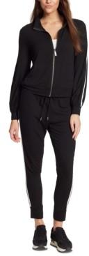 Skinnygirl Pauly Zip-Front Sweatshirt