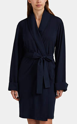 Skin Women's Kellyn Organic Pima Cotton Robe - Navy