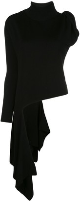 Monse Turtleneck Asymmetric Jumper