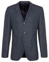 Hugo Boss Johnston Regular Fit, Wool Sport Coat 40R Blue
