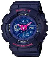 Baby-G Casio Baby G Punching Pattern Blue Dial Blue Stap Watch
