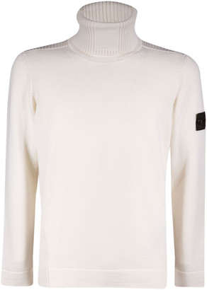 Stone Island Shadow Project Turtleneck Ribbed Sweater