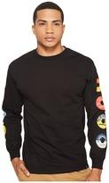 HUF 45 RPM Long Sleeve Tee Men's T Shirt