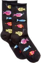 Hue Women's Bubble Fish Socks
