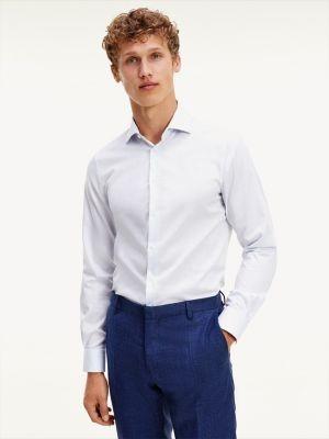 Tommy Hilfiger Check Flex Collar Slim Fit Shirt