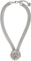 Versus Silver Lion Necklace