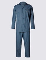 Marks And Spencer Easy Care Checked Pyjamas