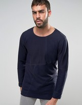 Nudie Jeans Evan Patched Ribbed Sweater