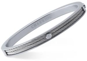 Charriol Women's Forever Stainless Steel Cable Bangle Bracelet