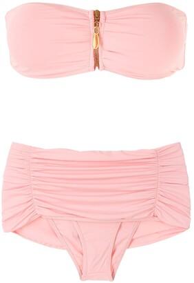 BRIGITTE Dani strapless bikini set