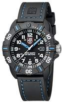 Luminox New Men's 3023 Cornado Black and Blue Watch