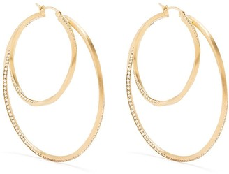COMPLETEDWORKS Manifold large hoop earrings