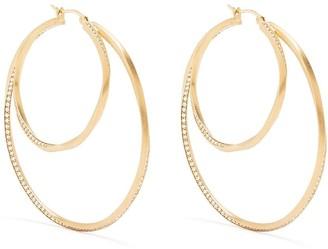 COMPLETEDWORKS Manifold large hoop earrings