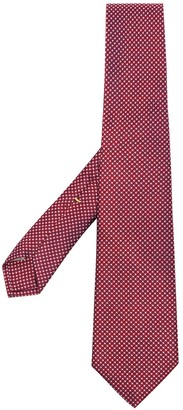 Canali Dot Pattern Tie