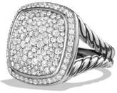 David Yurman Albion® Ring With Diamonds, 17Mm