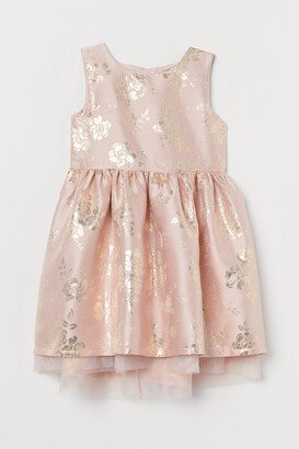 H&M Brocade Dress with Tulle