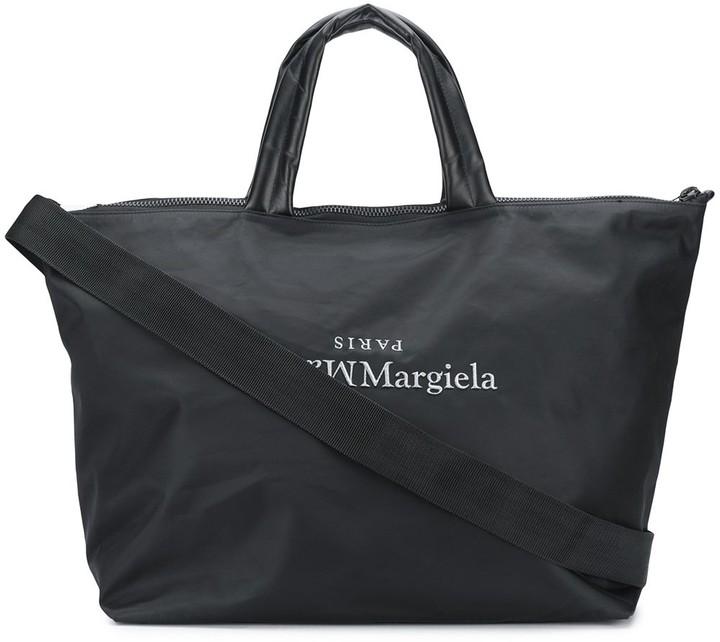Thumbnail for your product : Maison Margiela Large Logo Tote Bag