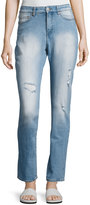 Cheap Monday Donna High-Rise Straight-Leg Jeans, Light Blue