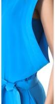 Thierry Mugler Sleeveless Kimono Tunic Dress