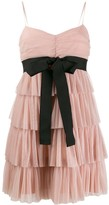 RED Valentino tulle tiered mini dress