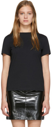 Helmut Lang Black Stacked T-Shirt
