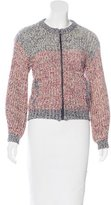 Etoile Isabel Marant Cable Knit Zip Jacket