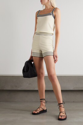 ODYSSEE Thelma Striped Knitted Camisole