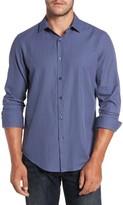 Robert Barakett Men's Athens Regular Fit Print Sport Shirt