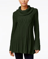 Style&Co. Style & Co. Cowl-Neck Tunic Sweater, Only at Macy's