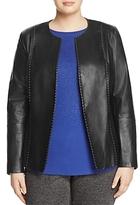 Marina Rinaldi Eden Leather Jacket