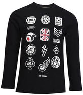 Ben Sherman Mod Themed Body Graphic Cotton Tee