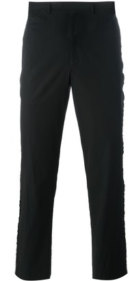 Jean Paul Gaultier Pre Owned Chainmail Detail Trousers