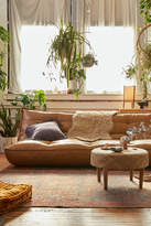Urban Outfitters Greta Recycled Leather XL Sleeper Sofa