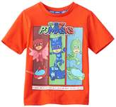 """Toddler Boy PJ Masks Owlette, Catboy & Gekko """"We're On Our Way Into the Night to Save the Day!"""" Graphic Tee"""