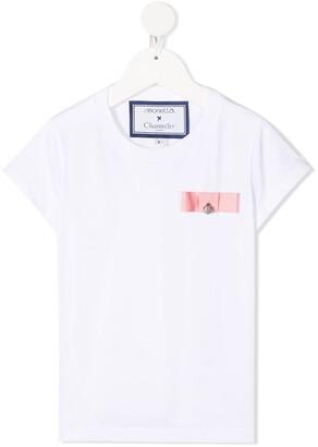 Simonetta Bow With Bell T-Shirt