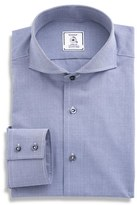 Maker & Company Men's Regular Fit Stripe Dress Shirt