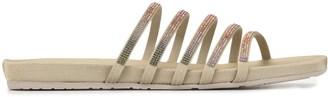 Pedro Garcia Gala crystal-embellished sandals