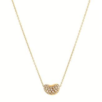 Tiffany & Co. Elsa Peretti Bean Pendant Necklace