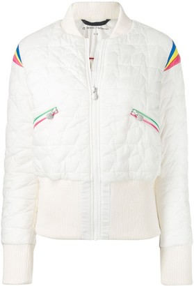 Perfect Moment Glacier quilted bomber jacket