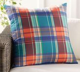 Pottery Barn Multi-Printed Plaid Indoor/Outdoor Pillow