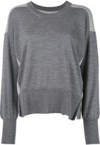 MM6 MAISON MARGIELA long sleeve sweater - women - Cotton/Wool - XS
