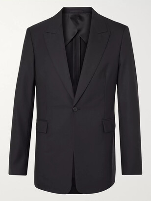 The Row Mason Slim-Fit Wool Suit Jacket - Men - Blue